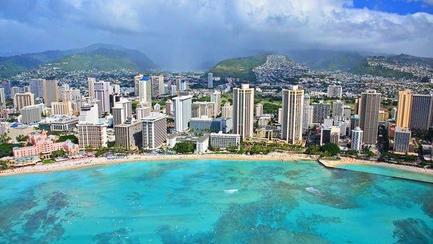 Hawaii aujourd'hui !!! pas ma tasse de thé...