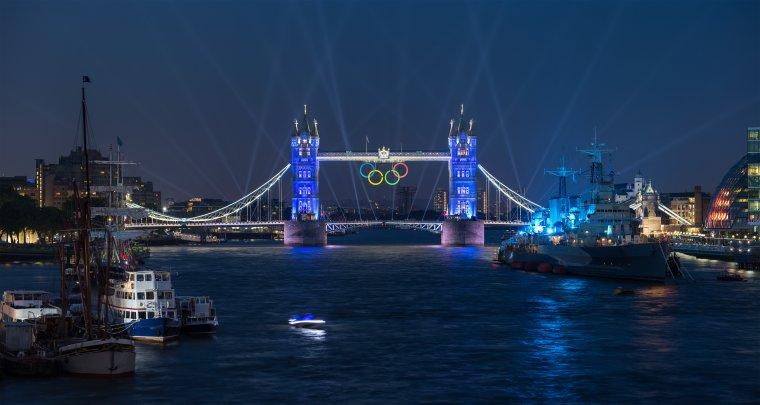 Le Tower Bridge, Londres, Grande-Bretagne....