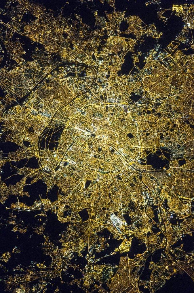 Paris, Ville lumière....