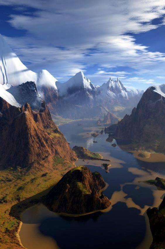 Les montagnes de Mourne,Irlande du nord......