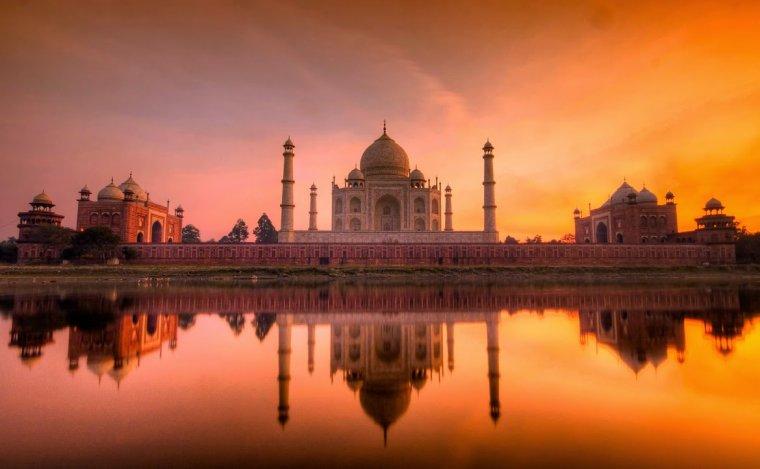 Le Taj Mahal....