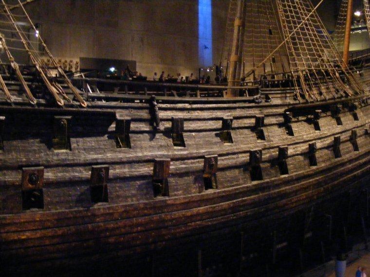 Le Vasa, navire de guerre suédois 1626-1628.....