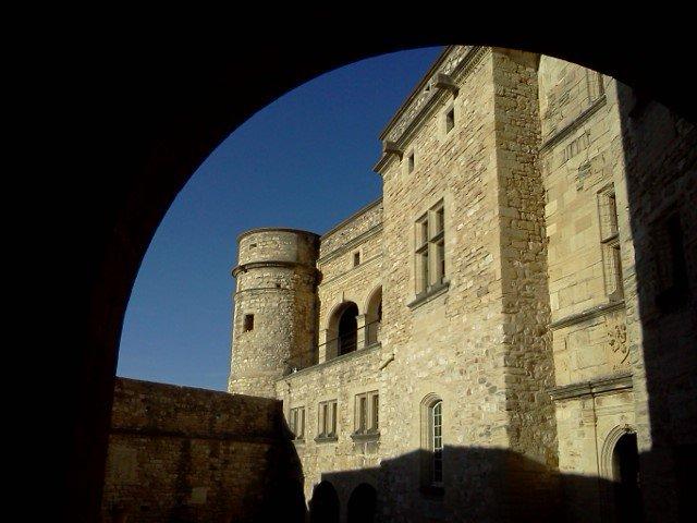 Le château du Barroux, prés de chez moi 30 km +ou-  ........