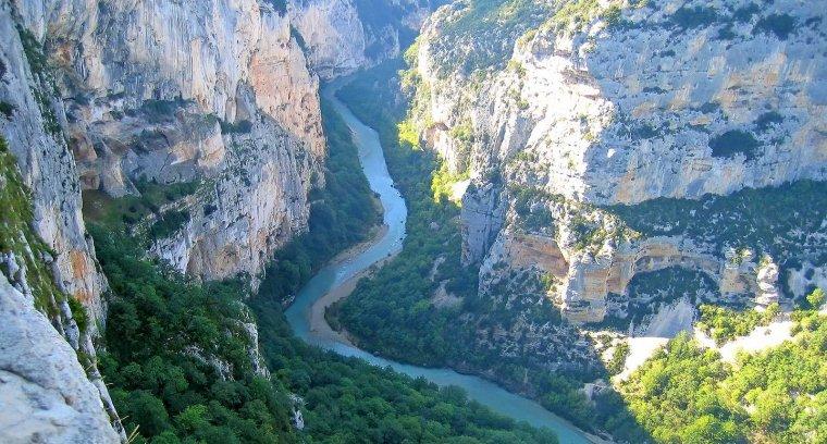 Les Gorges du Verdon, Le plus grand canyon d'Europe, France.....
