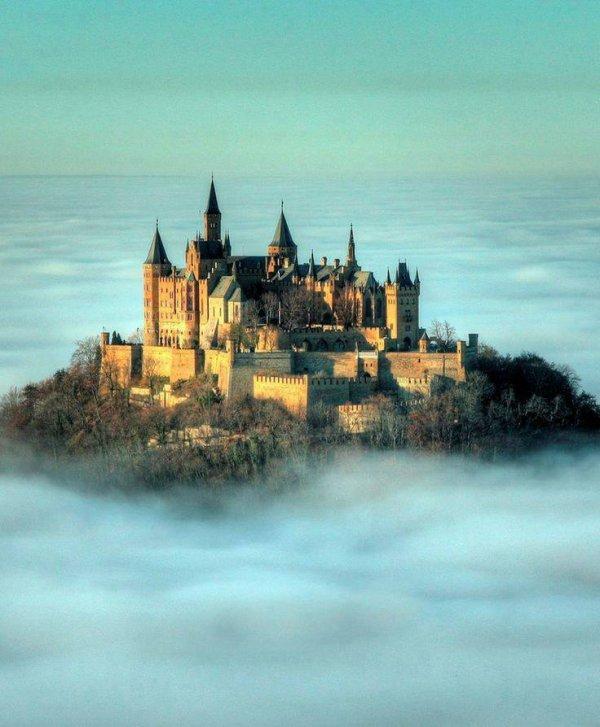 Château de Hohenzollern, Allemagne...