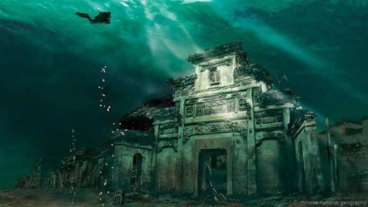 Shi Cheng, la Cité des Lions engloutie, Chine...