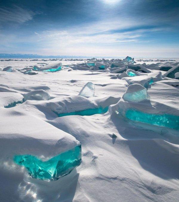 Sur le lac Baïkal, Russie....