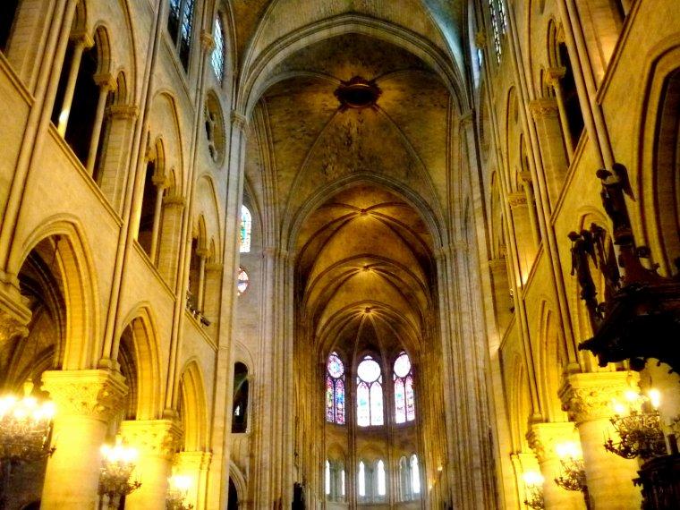 La cathédrale Notre-Dame de Paris, France....