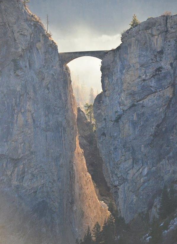 Pont du Châtelet 108 m,  Vallée de l'Ubaye, Dépt 04, France....