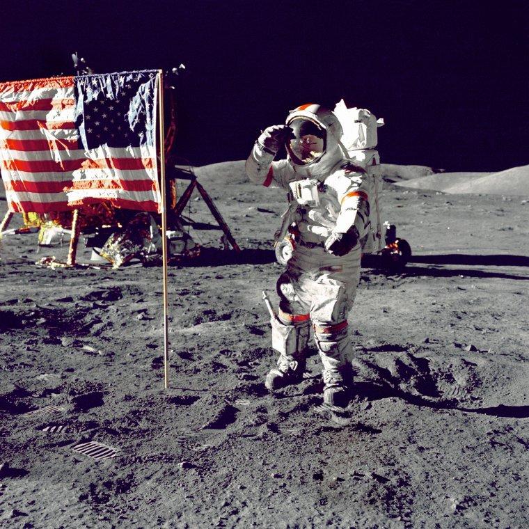 Apollo 17 dernière mission lunaire,13 décembre 1972...