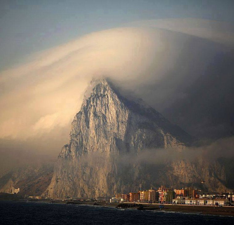 Le rocher de Gibraltar...