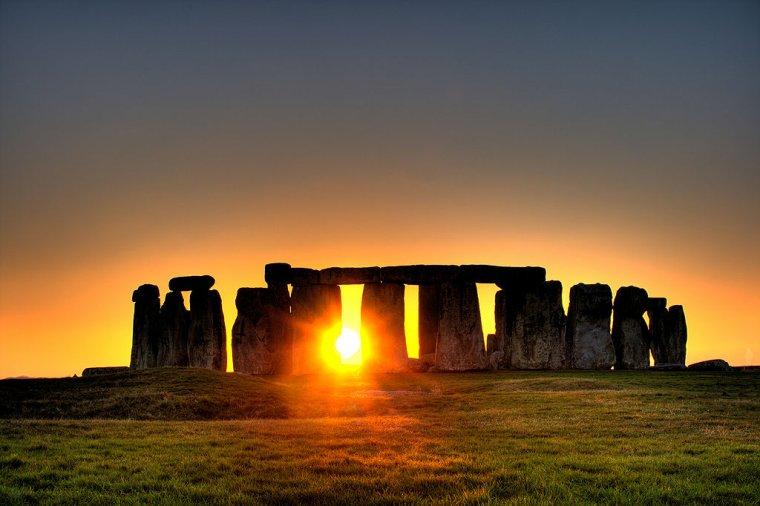Stonehenge, Grande-Bretagne...