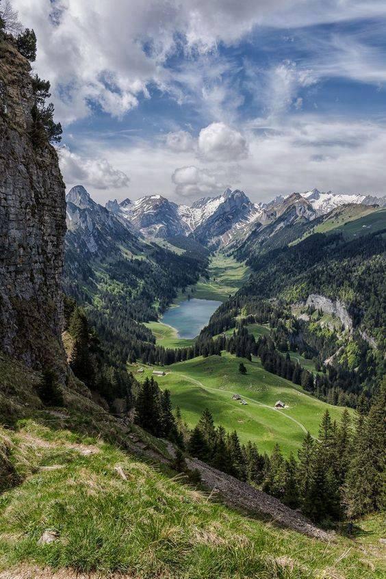 Alpes Suisse oriental......