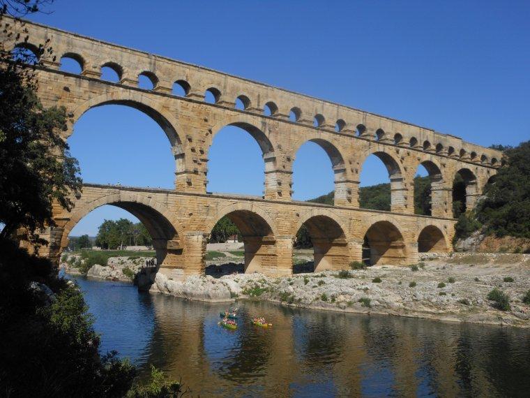 Le pont du Gard....