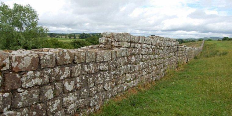 Le mur d'Hadrien, Grande-Bretagne....