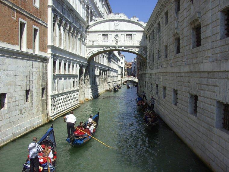 Pont des soupirs, Venise, Italie...