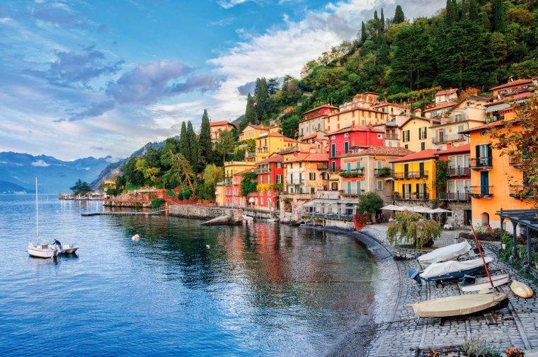 La Lombardie, Italie....