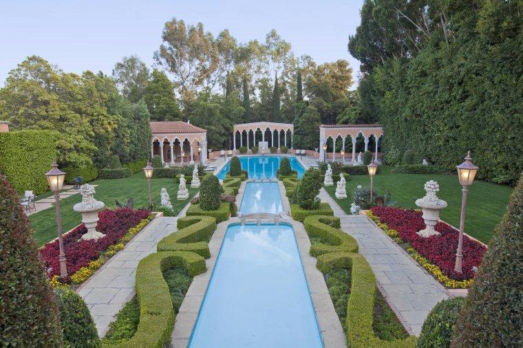 Hearst Castle à San Simeon, Californie, U.S.A....