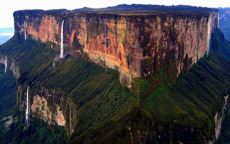 Mont Roraima, frontière entre le Brésil, Guyana et Vénézuela