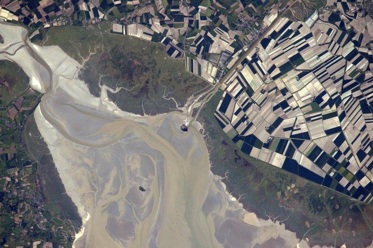La baie du Mont St-Michel....