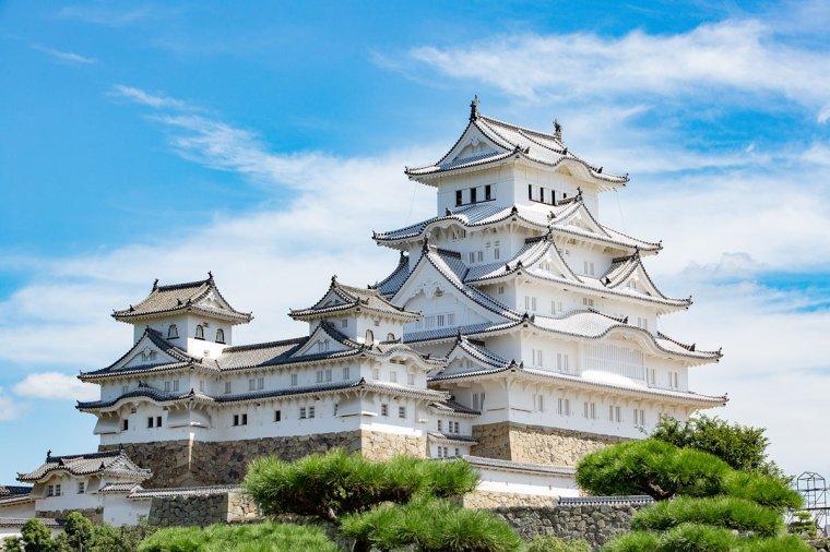Le château de Himeji, Japon...
