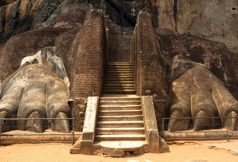 Sigiriya, le rocher du lion, Sri-Lanka.....
