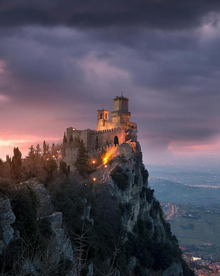 La château Della Guaita, Saint-Marin....
