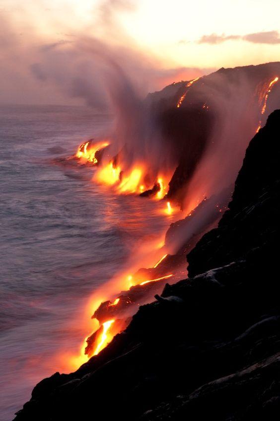 Contraste volcanique.....