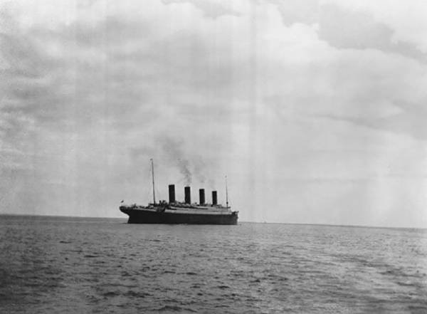 La dernière photo du Titanic....