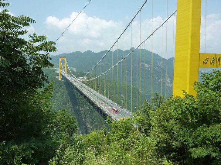 Le pont Sidu, Chine...