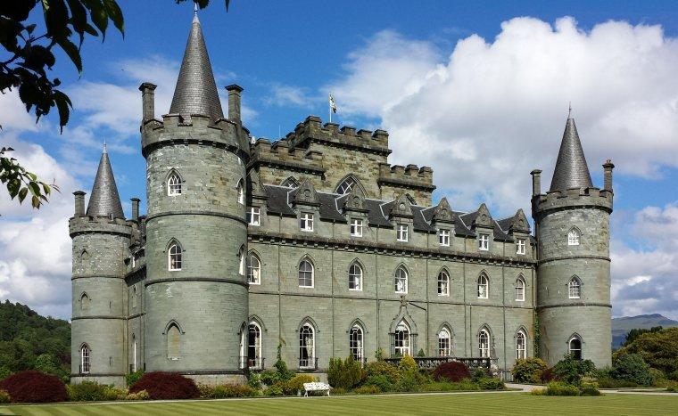 Le château de Balmoral, en Écosse...