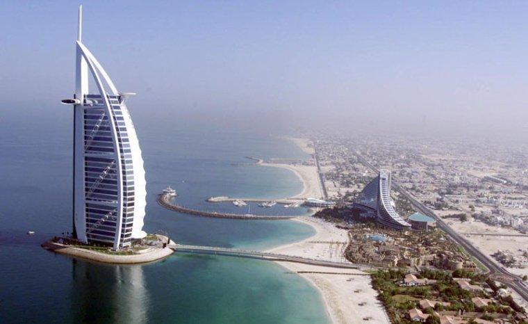 Burj Al Arab Jumeirah Hotel, Dubaï....