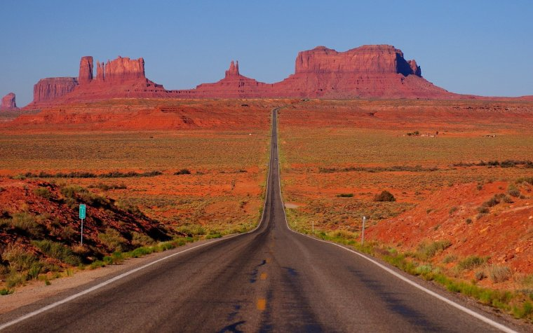 La plus célèbre photo de Monument Valley, USA...