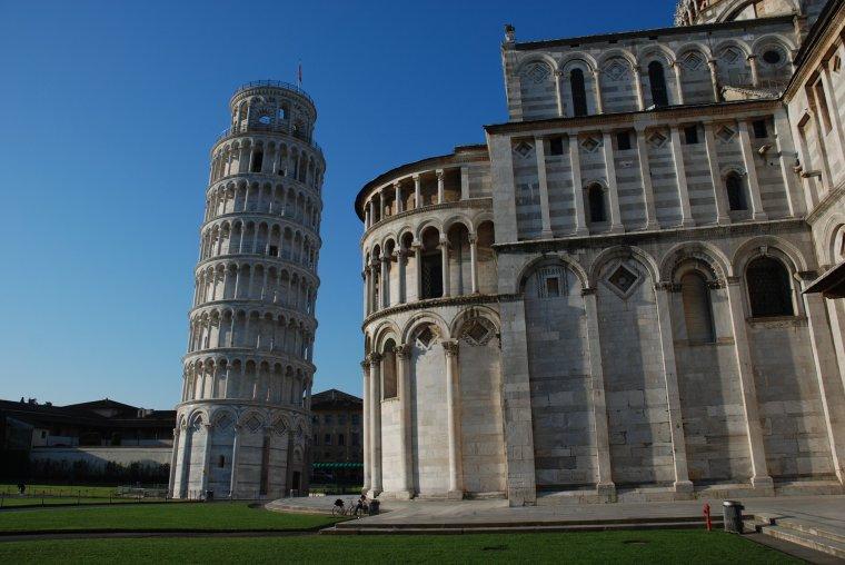 La tour de Pise en Toscane, Italie....