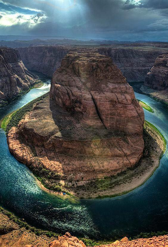 Le fleuve Colorado, Arizona, USA....