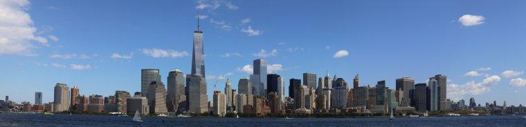 Le One World Trade Center, Manhattan, New York, USA....