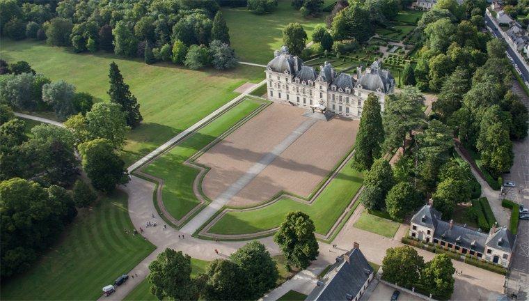 Le château de Cheverny, Loir-et-Cher, France....