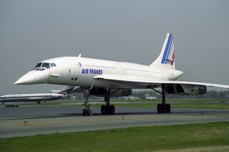 Concorde, le plus belle avion du monde....