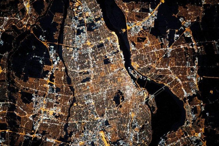 Montréal de la station spatial.....