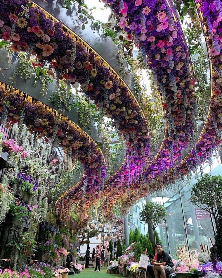 Jardins de la Baie à Singapour.....