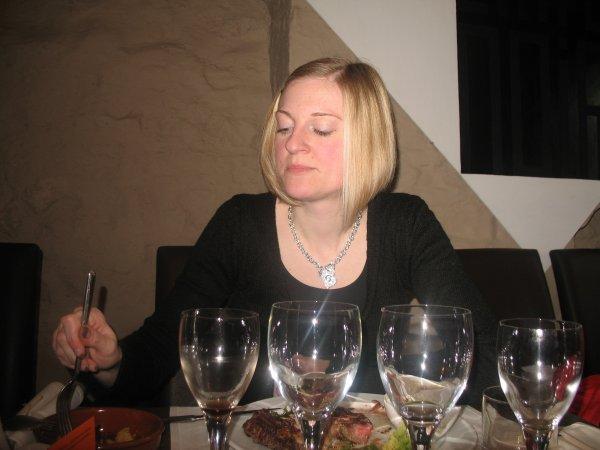 Mars: Mon anniversaire au restaurant