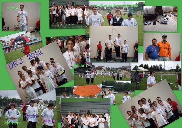 CD 2X50M DR jeunes et FITA sous la pluie à LINGO le 1° juillet
