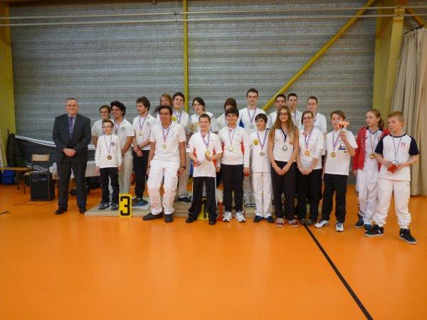 championnat d'Alsace jeunes 17 fev
