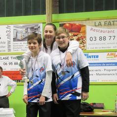 Championnat du bas Rhin salle Janvier 2016 à Lingolsheim.