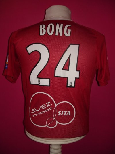 MAILLOT DE BONG saison 2010-2011