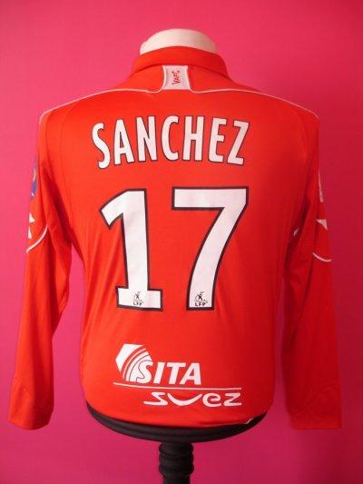 SAISON 2008-2009 MAILLOT DE CARLOS SANCHEZ
