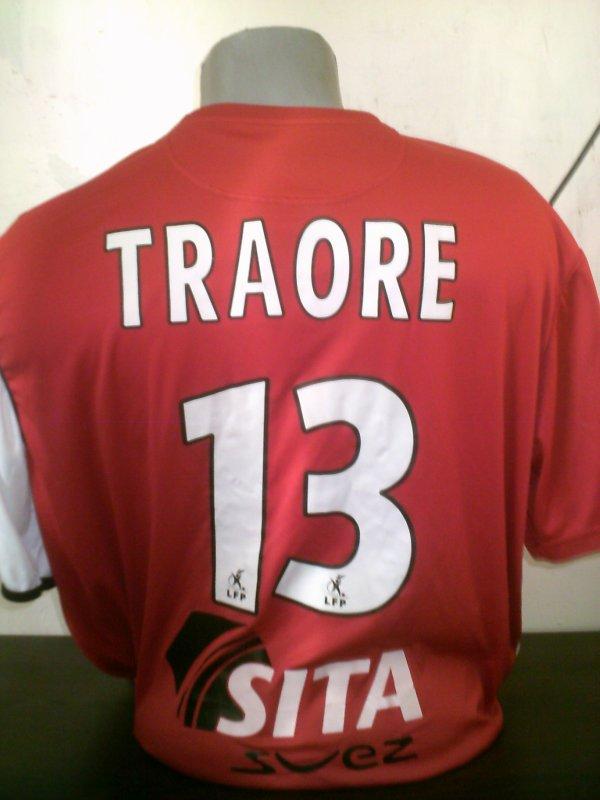 MAILLOT VAFC  PORTE SAISON 2005-2006. MODY TRAORE