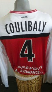 Maillot LIGUE 2 sasion 2014-2015 COULIBALY adama