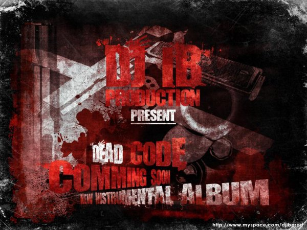 DJ IB - DEAD CODE New hip hop Instrumental Album 2014