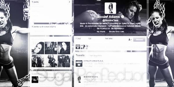 SugarPerfection votre sources sur Brooke Adams  { ♥ }        Brooke et twitter ♥  ~ SugarPerfection ~